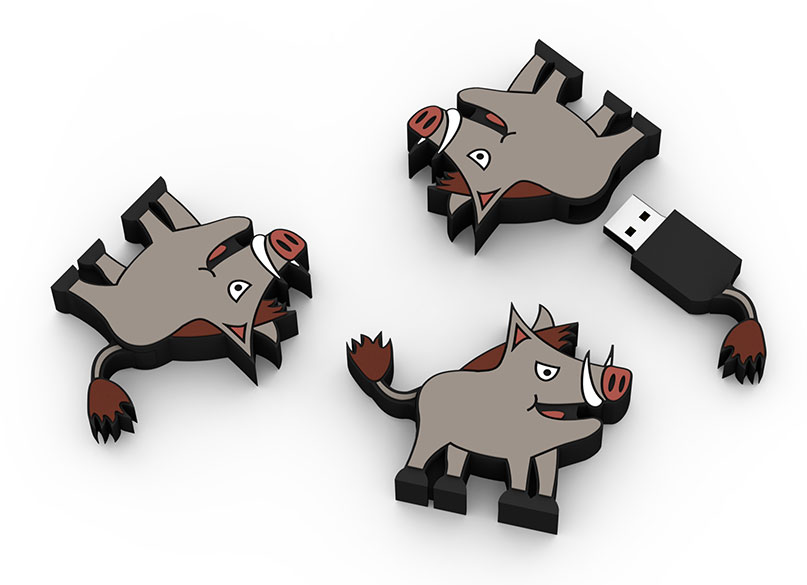logo, customer flash drive