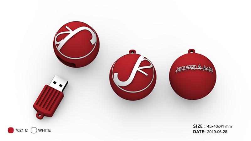 logo, customer flash drive