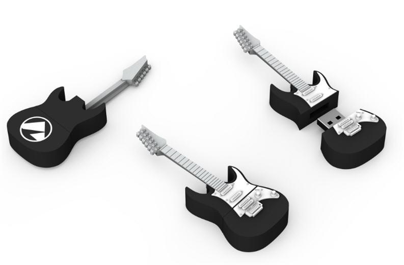 guitar, customer flash drive