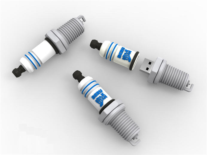 spark plug, customer flash drive