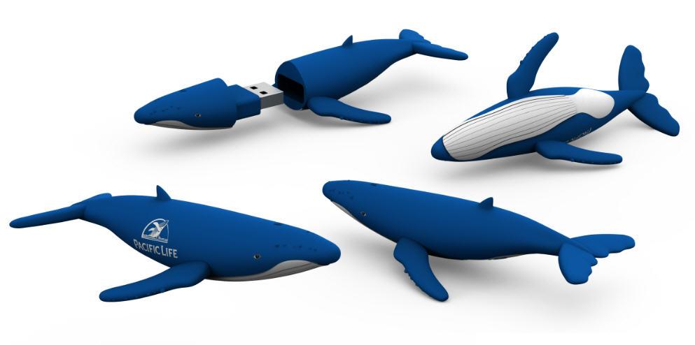 Whale flash drive