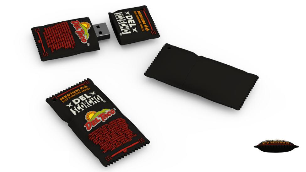 Del Taco flash drive